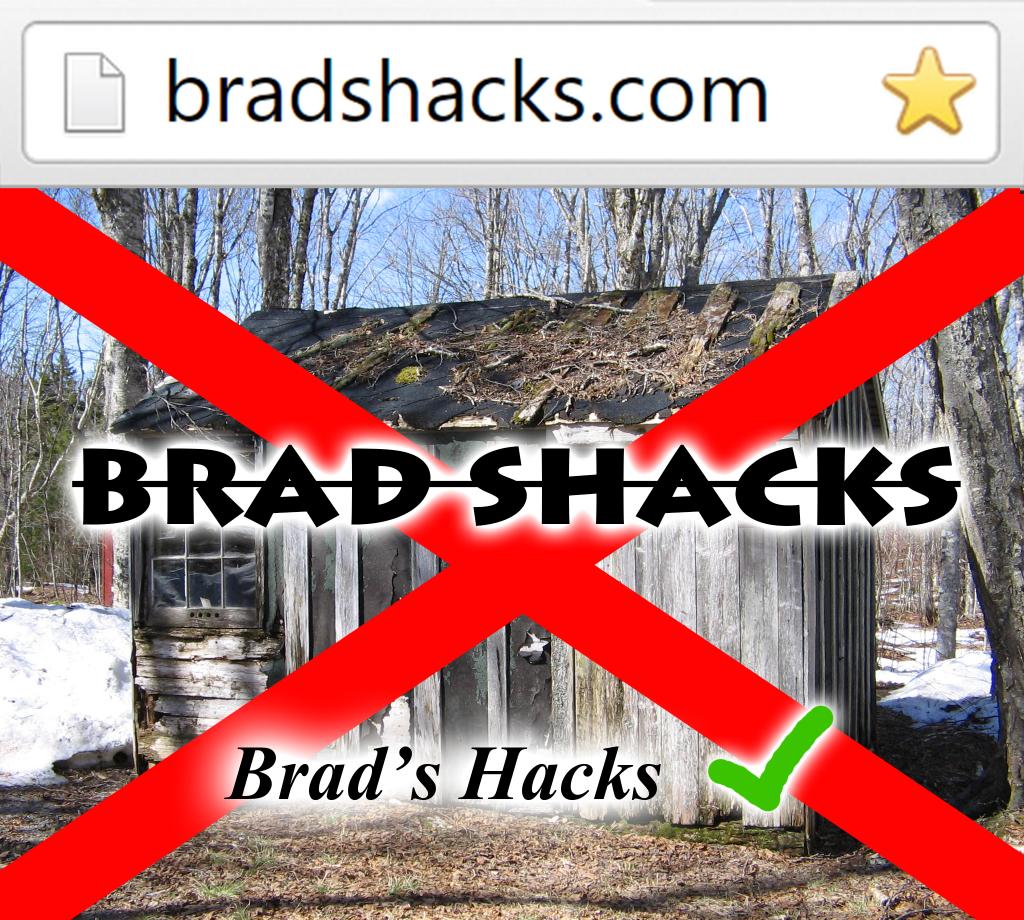 Brad Shacks